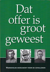Dat offer is groot geweest